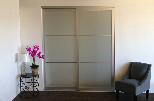 Stylish sliding glass closet doors acrylic u0026 glass - sliding closet doors / room dividers contemporary-closet vxljchq