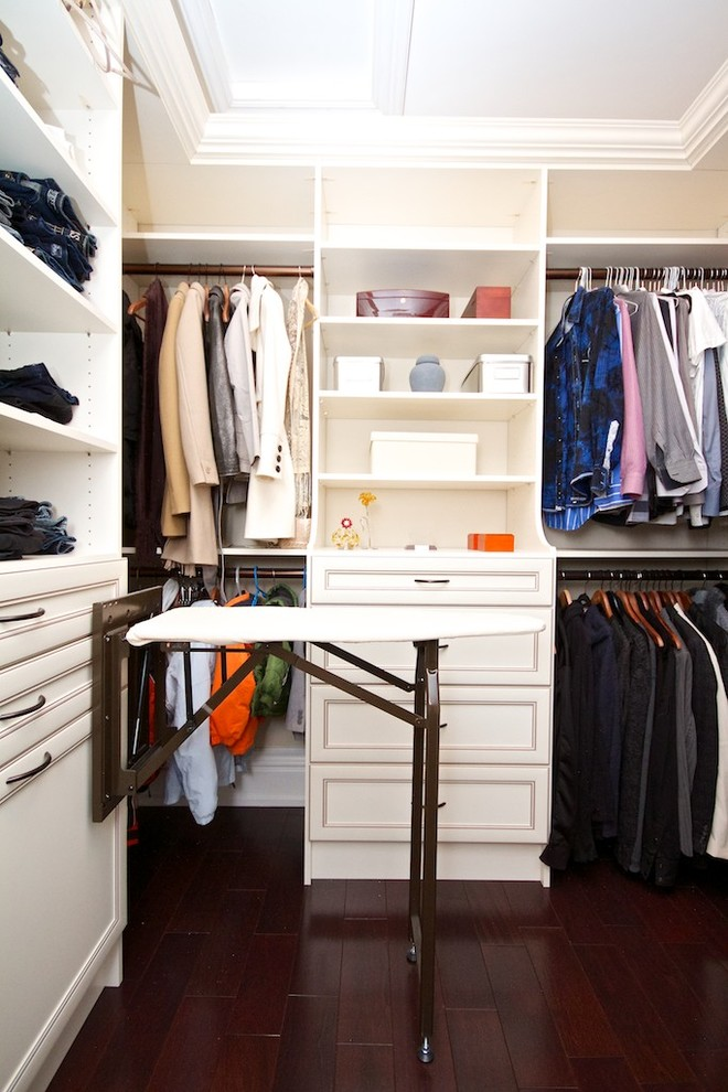 Stylish walk in closet design ideas an ironing board is a great addition to a walk-in closet if you htaxbze