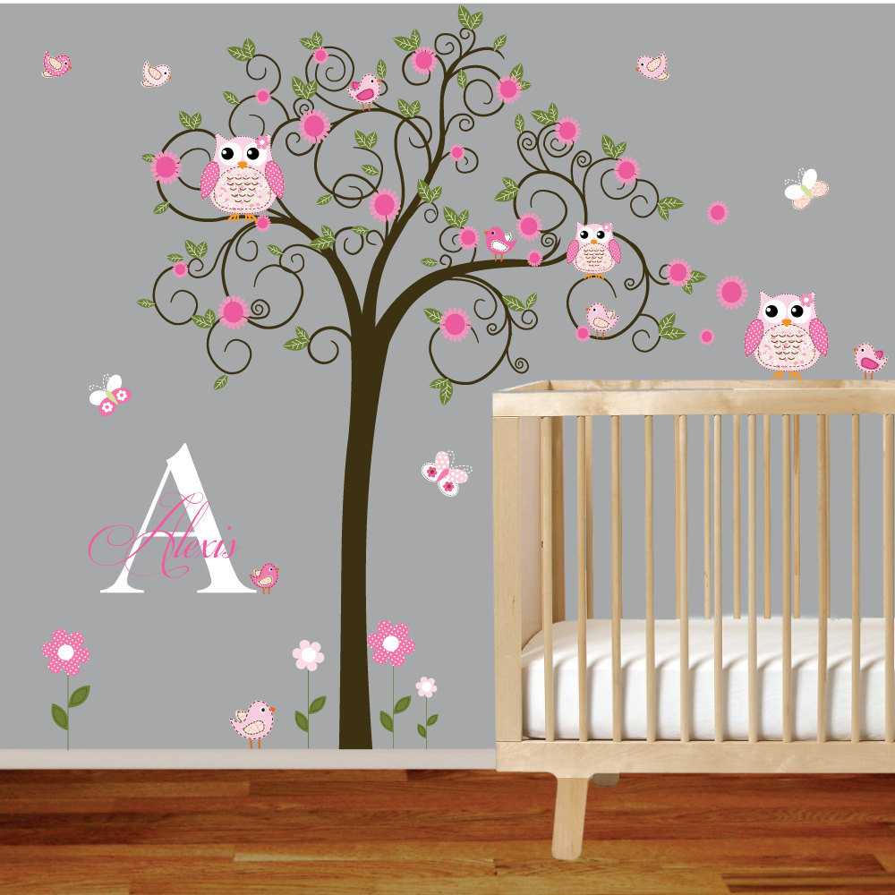 Select optimal wall stickers for nursery