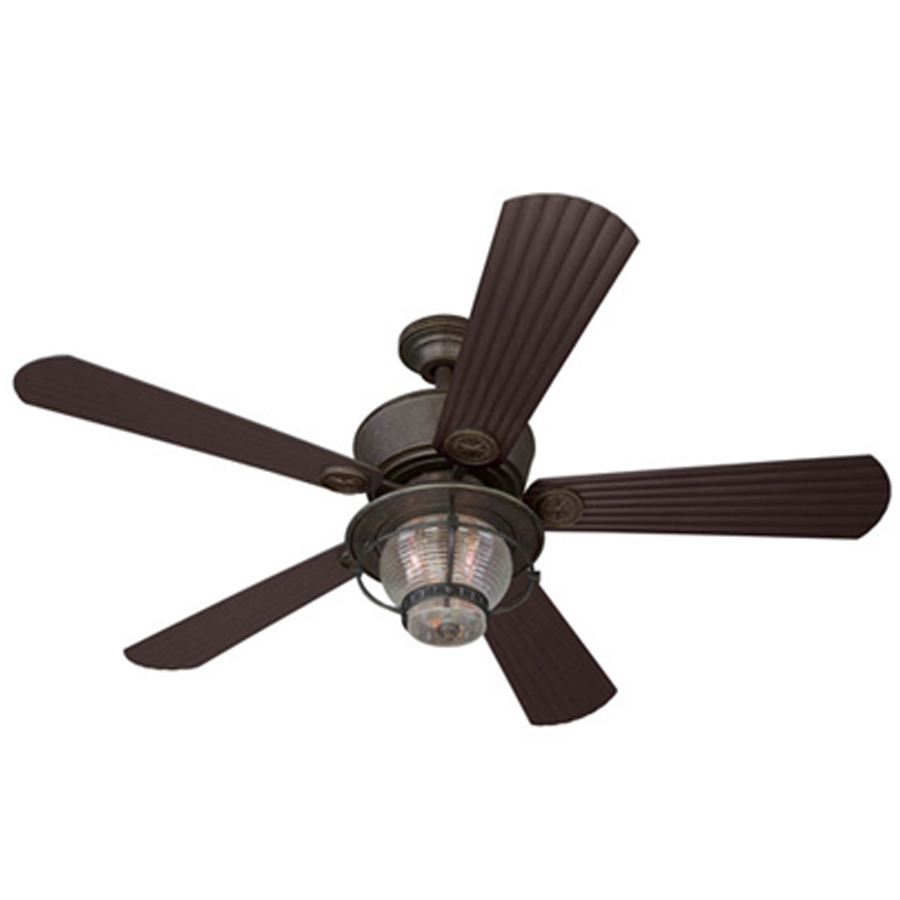 Trendy hunter outdoor ceiling fans display product reviews for merrimack 52-in antique bronze indoor/outdoor  downrod mount ceiling vvsulnj