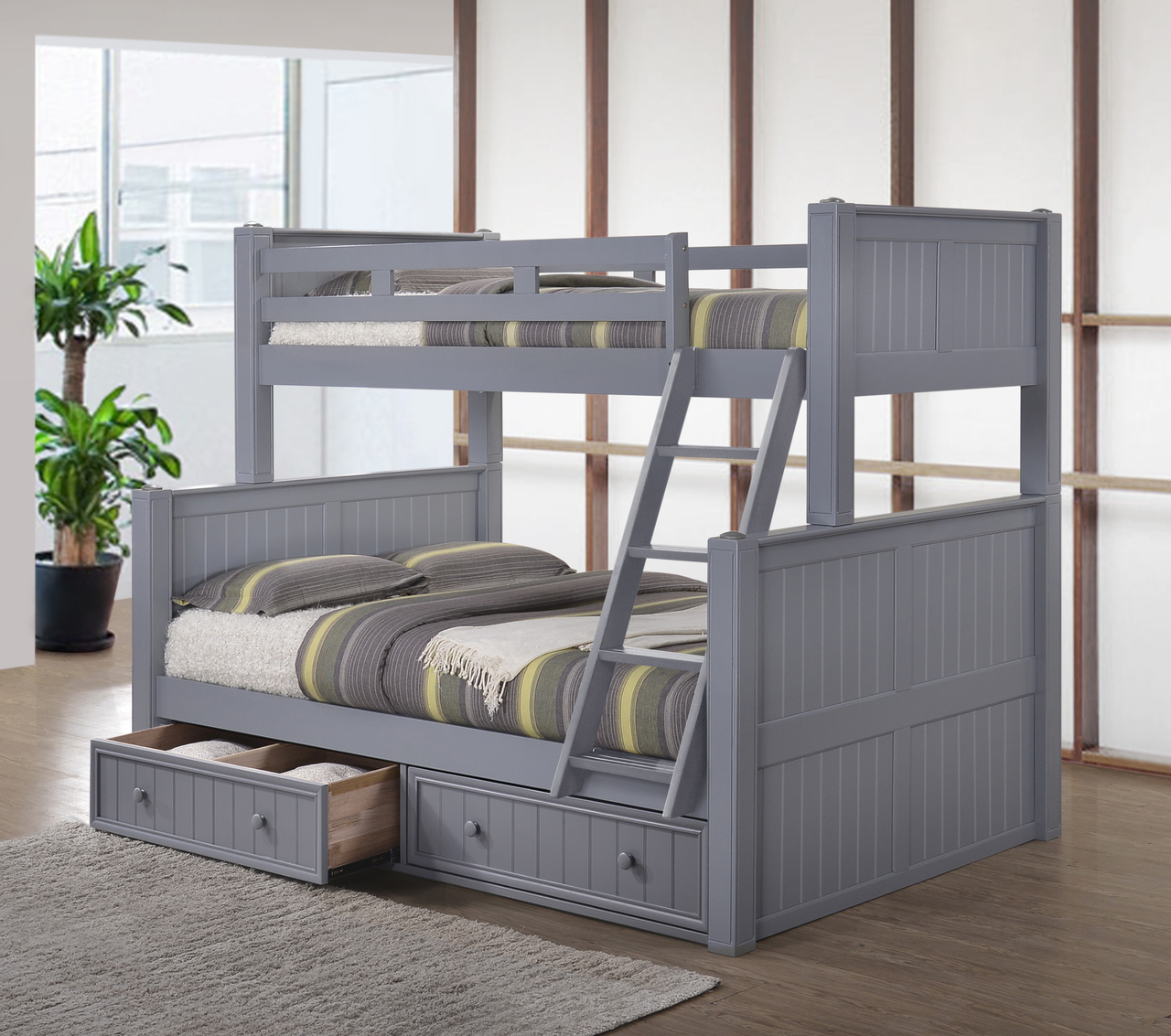 Unique bunk beds twin over full ... twin full bunk bed · black · dark pecan · walnut · iprncyr
