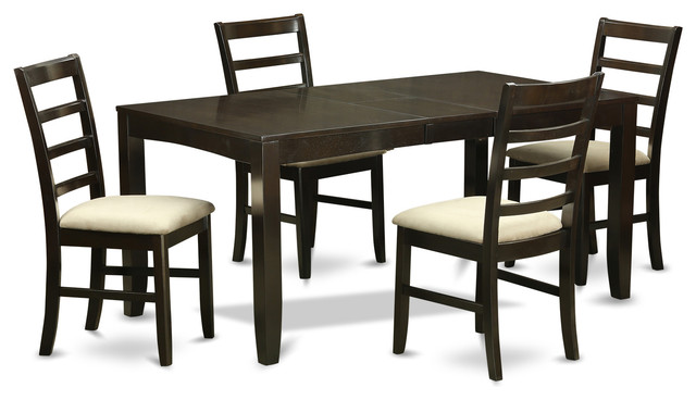Unique dining table and 4 chairs 4 chair dining sets lypf-cap kitchen table set - transitional - dining sets trtxhtk