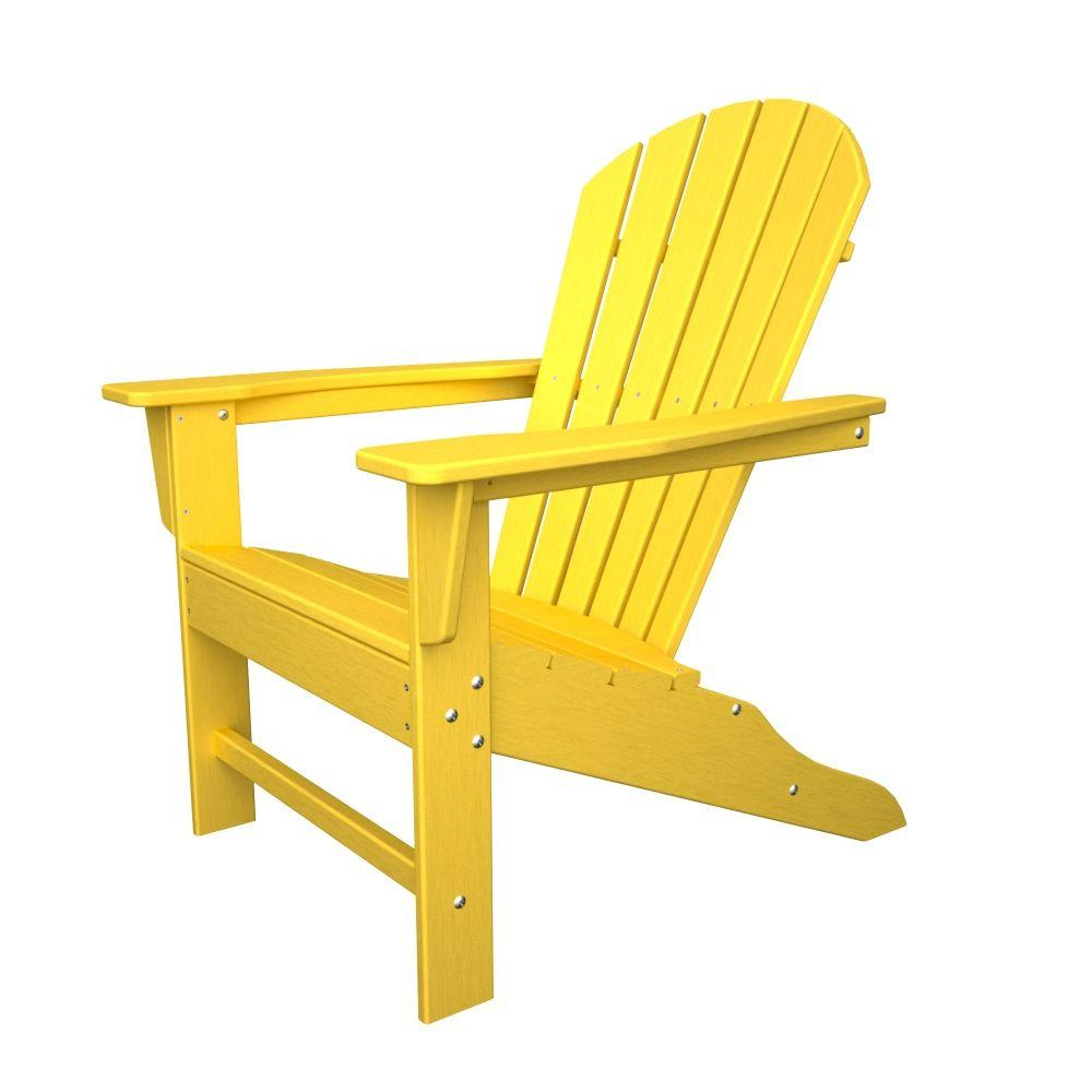 Unique recycled plastic adirondack chairs polywood south beach aruba patio adirondack chair-sba15ar - the home depot inpewms