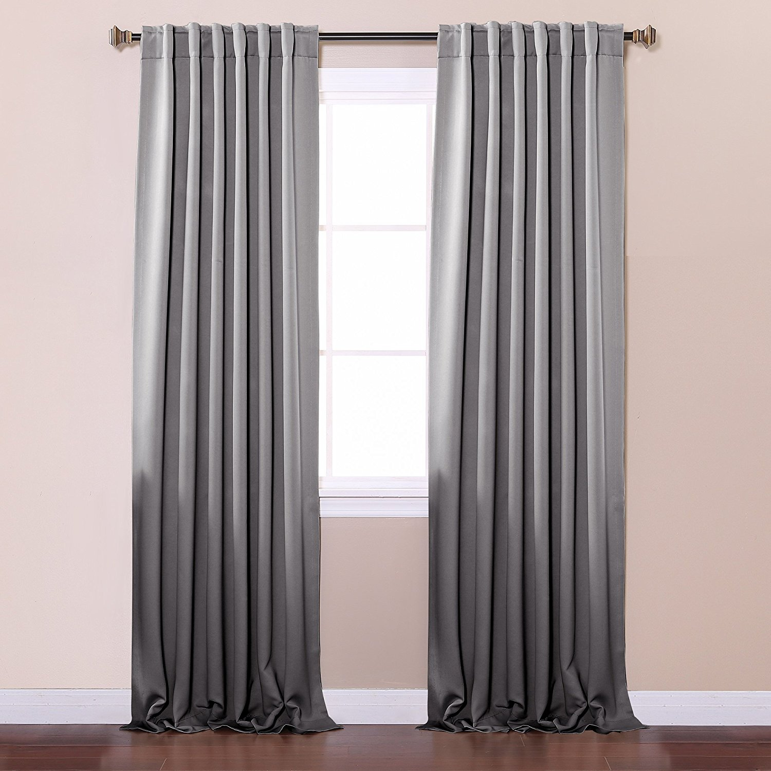 Unique thermal blackout curtains amazon.com: best home fashion thermal insulated blackout curtains - back  tab/ rod ynmshwl